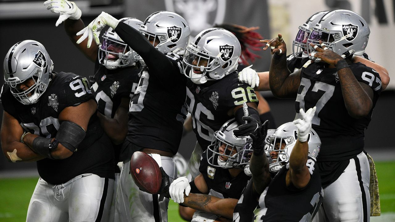 Platz 2: Las Vegas Raiders  - Bildquelle: 2020 Getty Images