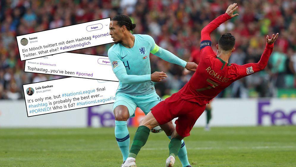 Der Hashtag #PORNED amüsierte die Twitter-Gemeinde - Bildquelle: 2019 imago/Twitter