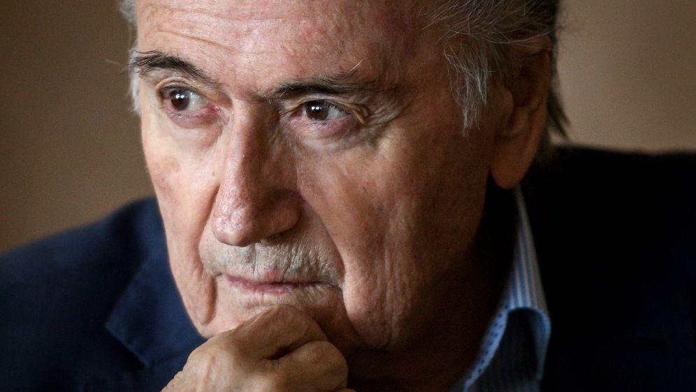 Blatter befindet sich auf dem Weg der Besserung - Bildquelle: AFPSIDFABRICE COFFRINI