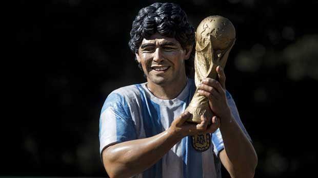Diego Maradona - Bildquelle: imago/Xinhua