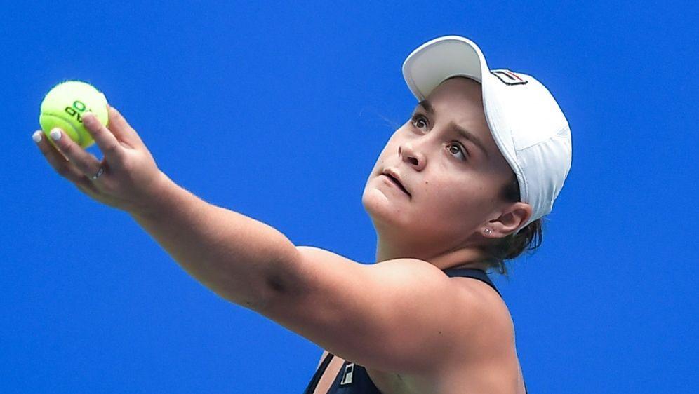 Ashleigh Barty gewann die WTA Elite Trophy in Zhuhai - Bildquelle: PIXATHLONPIXATHLONSID