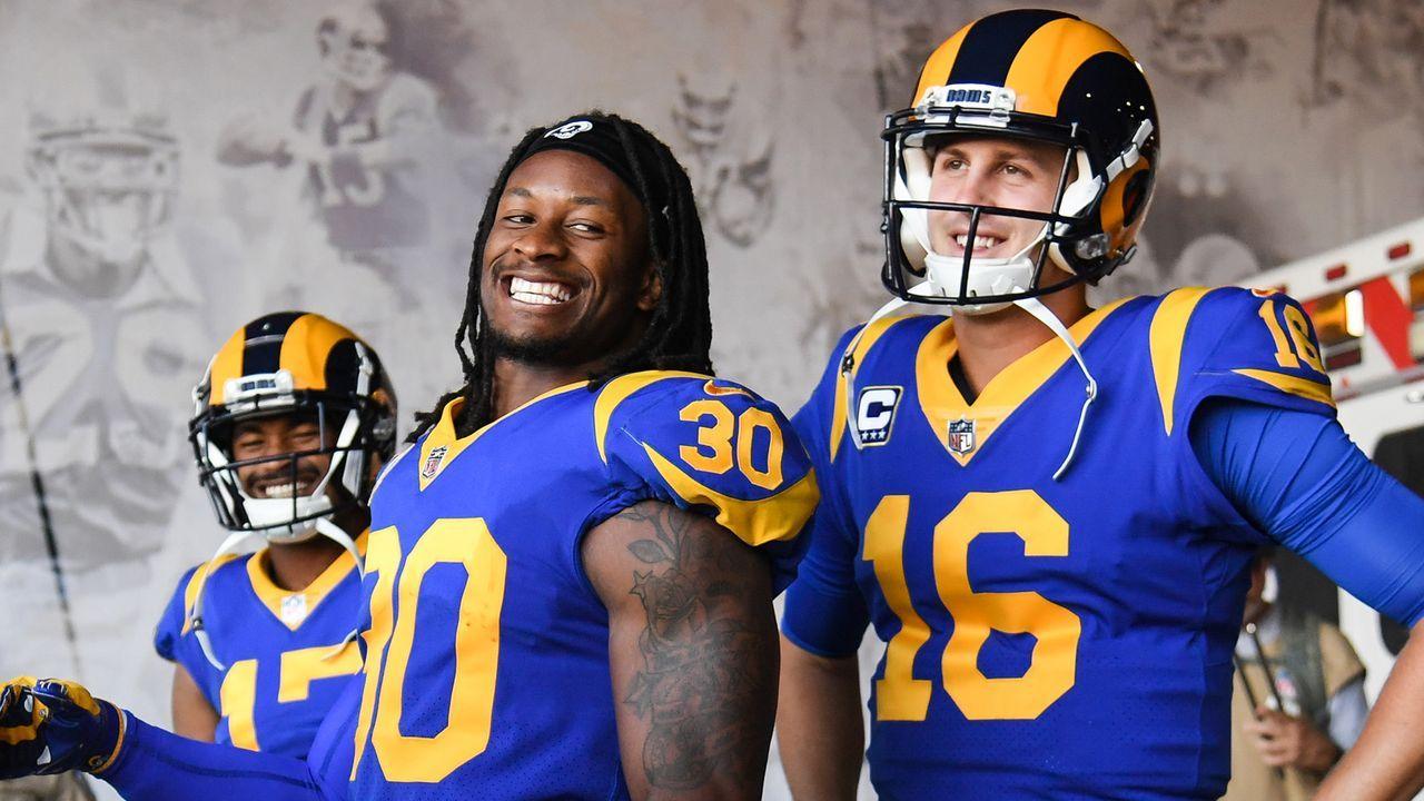 10. Los Angeles Rams 2018 - Bildquelle: 2018 Getty Images