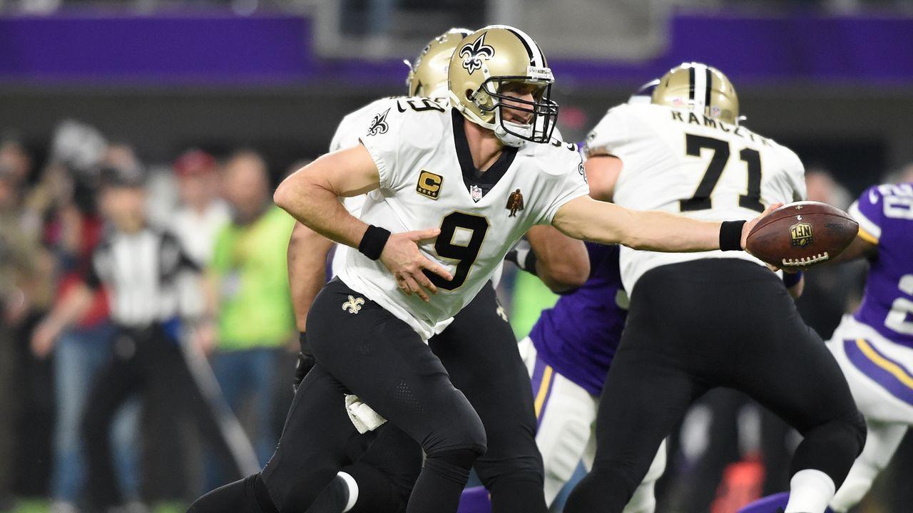 Platz 25: New Orleans Saints - Bildquelle: 2018 Getty Images