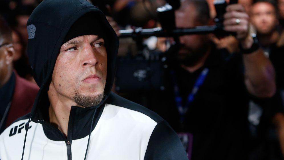 Nate Diaz hadert mit der Anti-Doping-Behörde USADA - Bildquelle: Getty Images