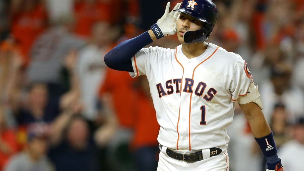 Carlos Correa und die Astros gewinnen in Washington - Bildquelle: GETTY IMAGES NORTH AMERICAGETTY IMAGES NORTH AMERICASIDArchivBob Levey