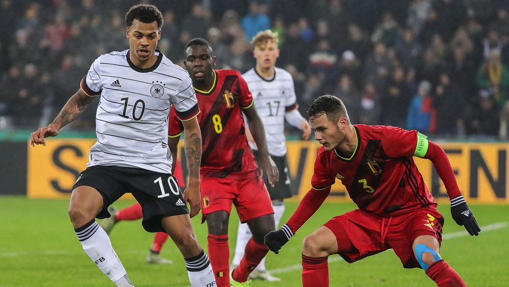 In der EM-Qualifikation traf die deutsche U21-Nationalmannschaft auf Belgien... - Bildquelle: imago images / Beautiful Sports
