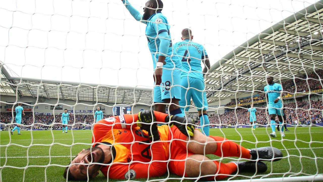 Hugo Lloris verletzt sich schwer am Ellbogen - Bildquelle: getty
