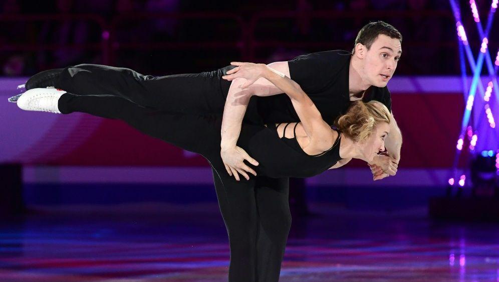 Olympiasieger: Aljona Savchenko und Bruno Massot - Bildquelle: AFPSIDMIGUEL MEDINA