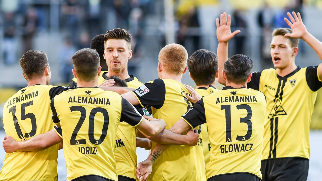 Alemannia Aachen (Regionalliga West)  - Bildquelle: imago images / foto2press