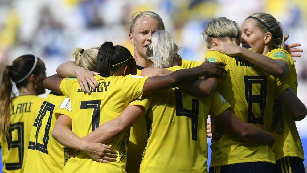 Schweden hatte beim 5:1 gegen Thailand keine Mühe - Bildquelle: AFPSIDCHRISTOPHE SIMON