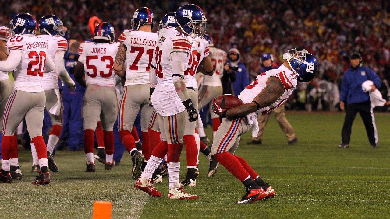 Platz 7: New York Giants - Bildquelle: 2012 Getty Images