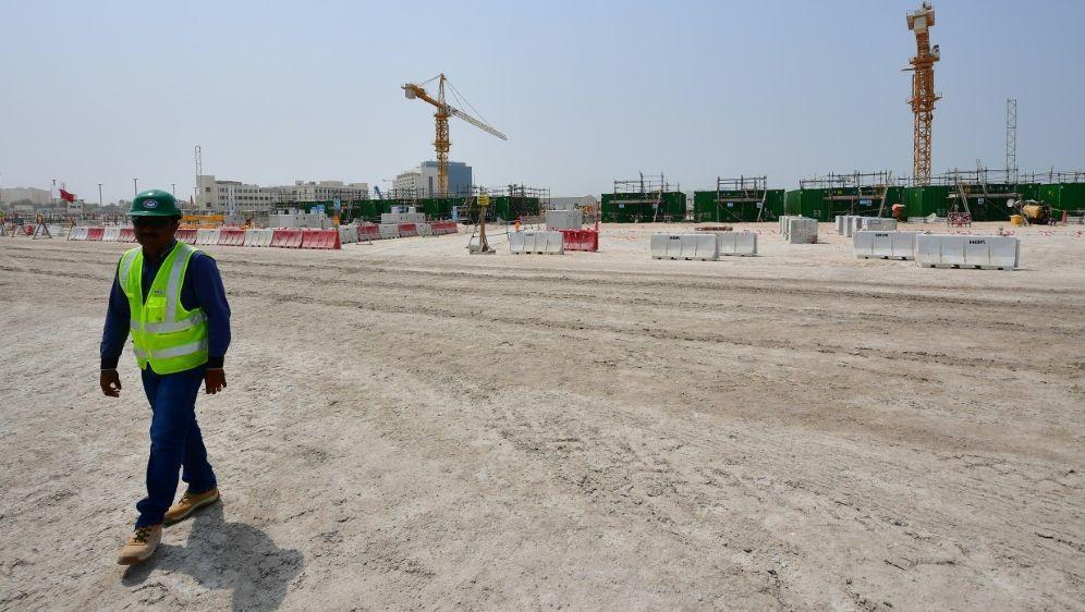 Katar: Gesetzentwurf zu verbesserten Arbeitsbedingungen - Bildquelle: AFPSIDGIUSEPPE CACACE