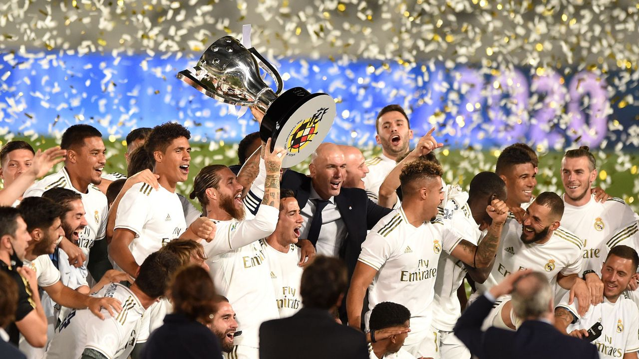 Platz 6 - Real Madrid (Fußball) - Bildquelle: 2020 Getty Images