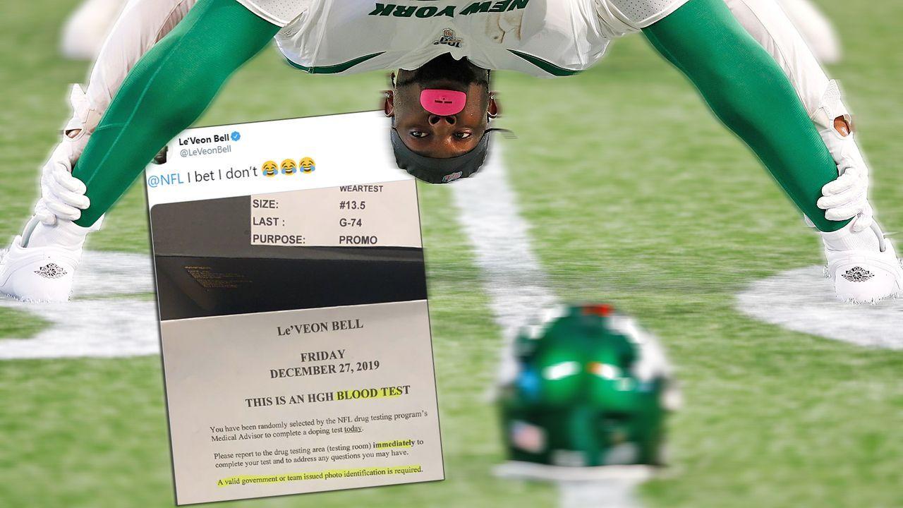Le'Veon Bell will Dopingtest verweigern - Bildquelle: Getty