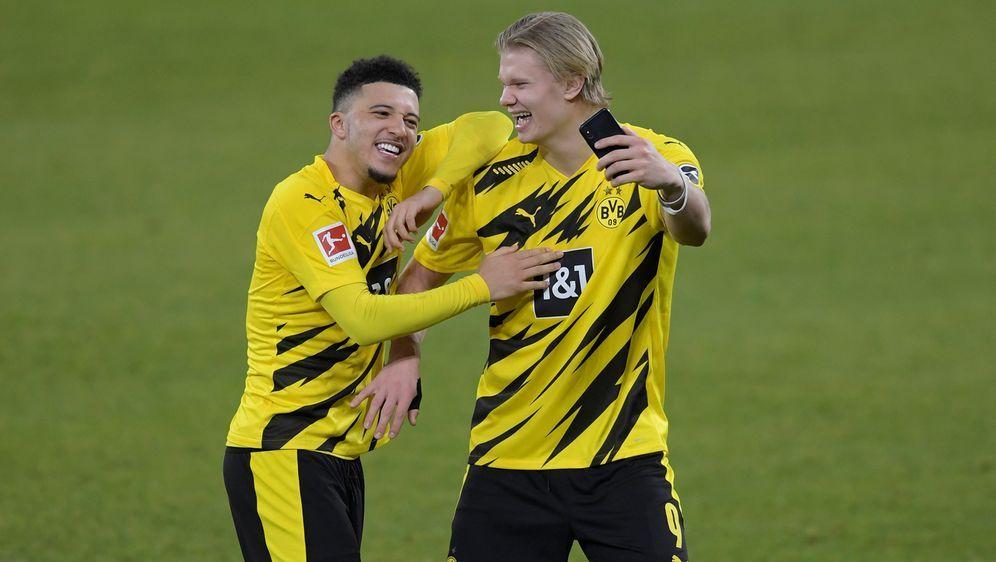Watzke denkt nicht, dass Sancho und Haaland bald gehen - Bildquelle: Imago Images