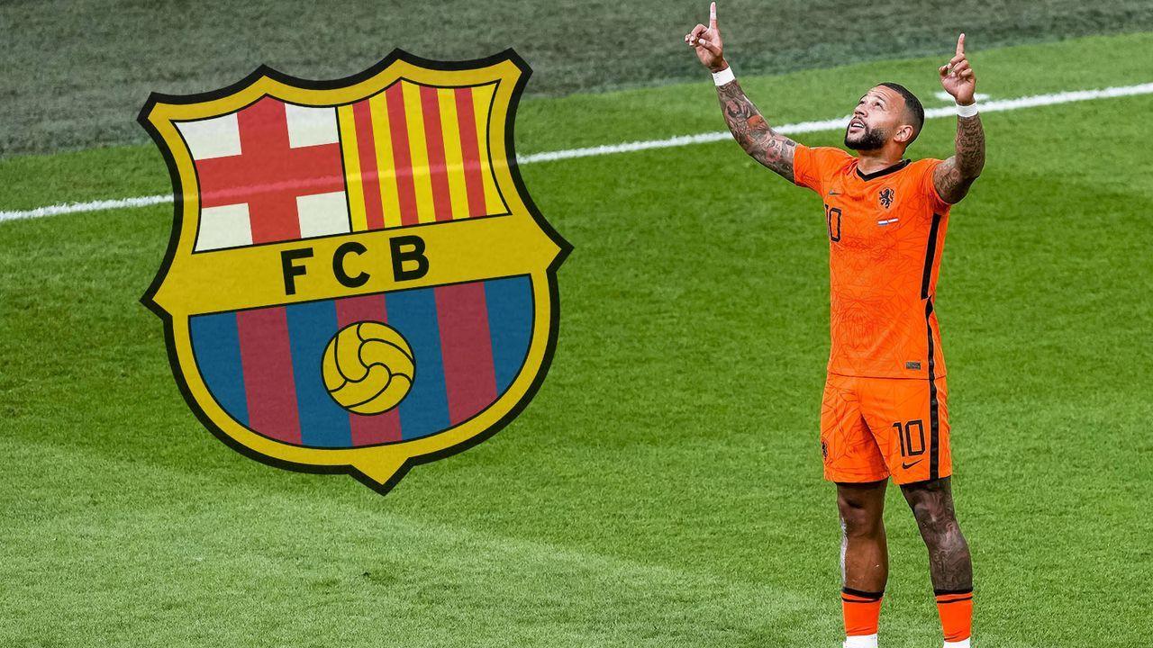 Memphis Depay (FC Barcelona) - Bildquelle: imago images/Pro Shots
