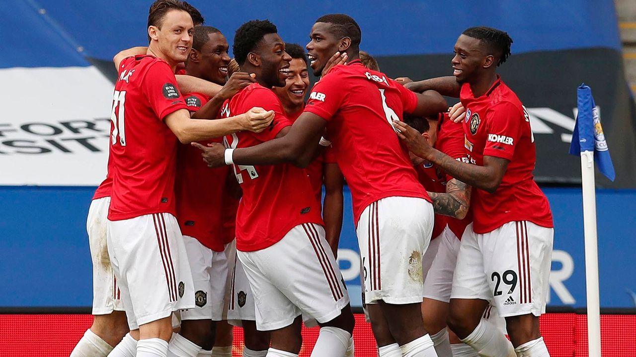 Platz 1: Manchester United - Bildquelle: imago images/Sportimage