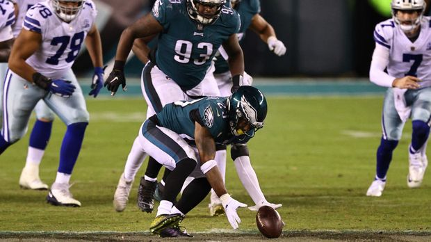 NFL - Defense entscheidet Turnover-Schlacht: Philadelphia Eagles bezwingen harmlose Dallas Cowboys