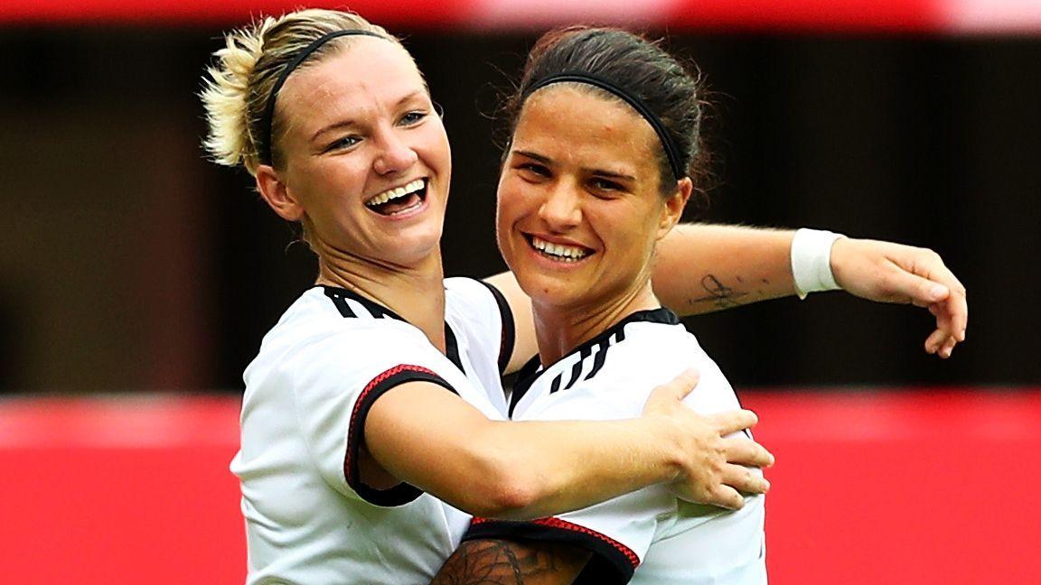 Wer sind die bekanntesten Spielerinnen im deutschen Kader? - Bildquelle: 2016 Getty Images