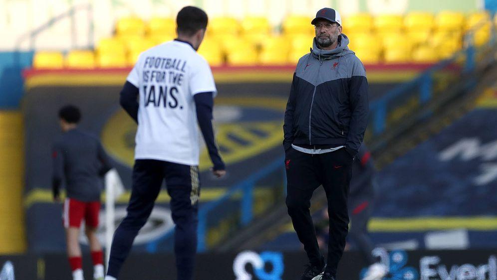 Jürgen Klopp äußert sich zu den Super-League-Plänen. - Bildquelle: imago images/PA Images