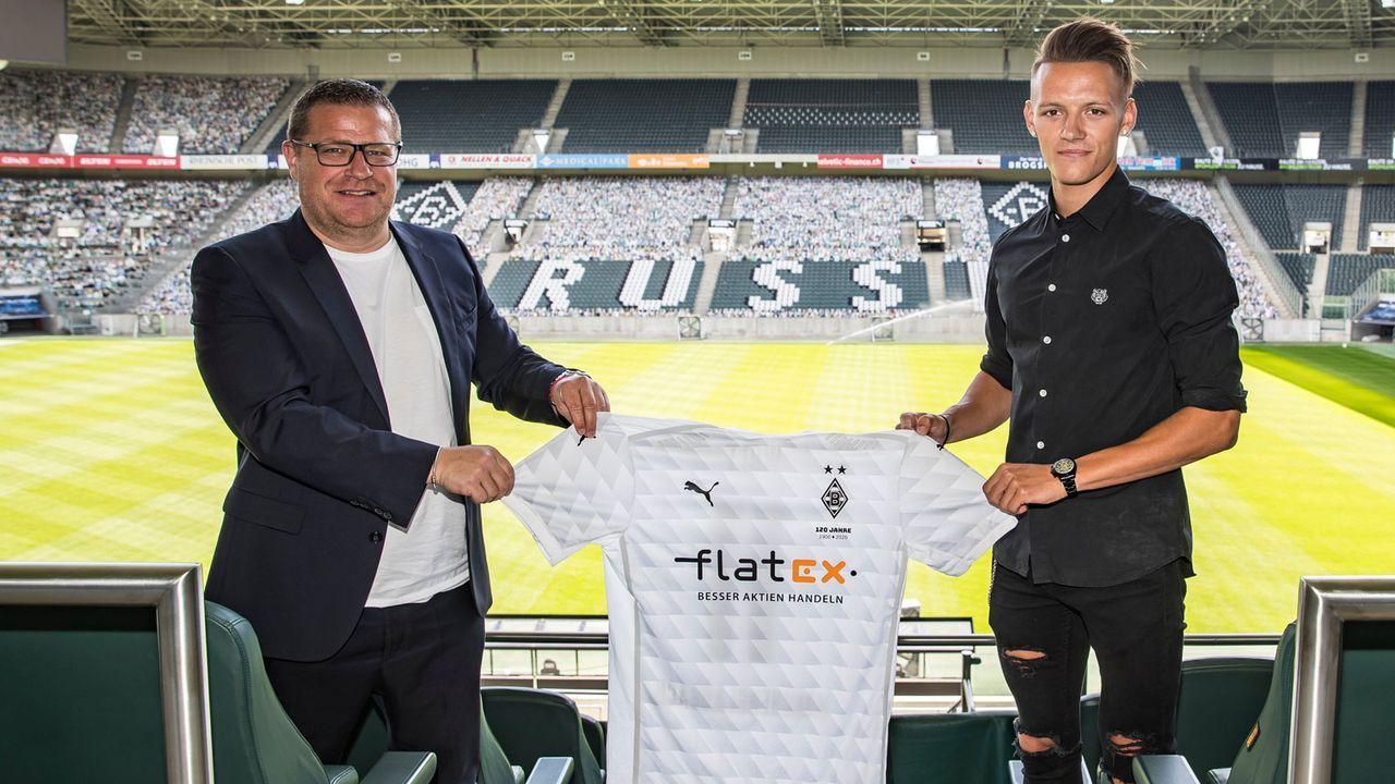 Hannes Wolf (Borussia Mönchengladbach) - Bildquelle: twitter.com/borussia