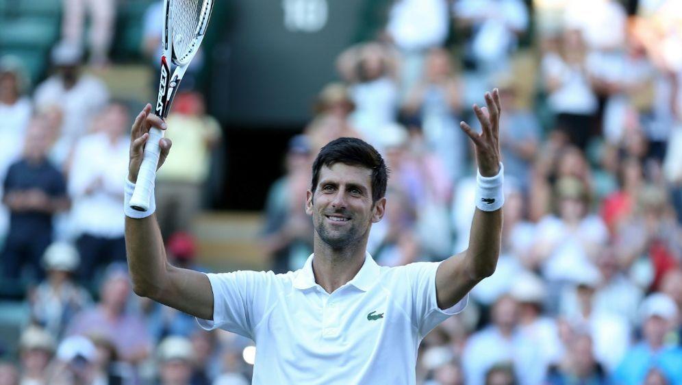 Djokovic folgt Nadal in Wimbledon in die dritte Runde - Bildquelle: PIXATHLONPIXATHLONSID