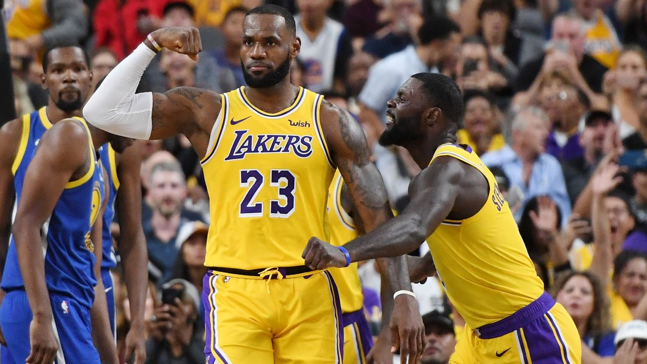 3. Platz im Westen: Los Angeles Lakers - Bildquelle: 2018 Getty Images