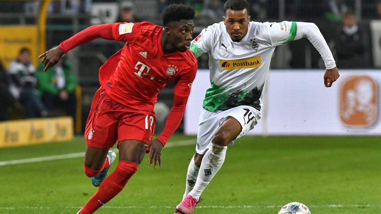 Alphonso Davies (FC Bayern München) - Bildquelle: Imago Images