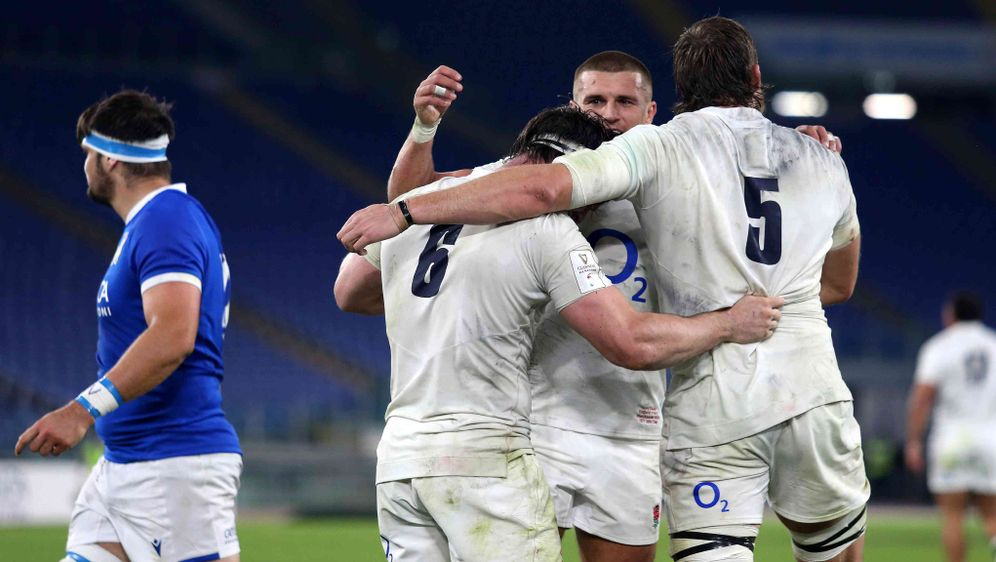 Im Rugby Six Nations gewinnt England mit 34:5 gegen Italien. - Bildquelle: getty