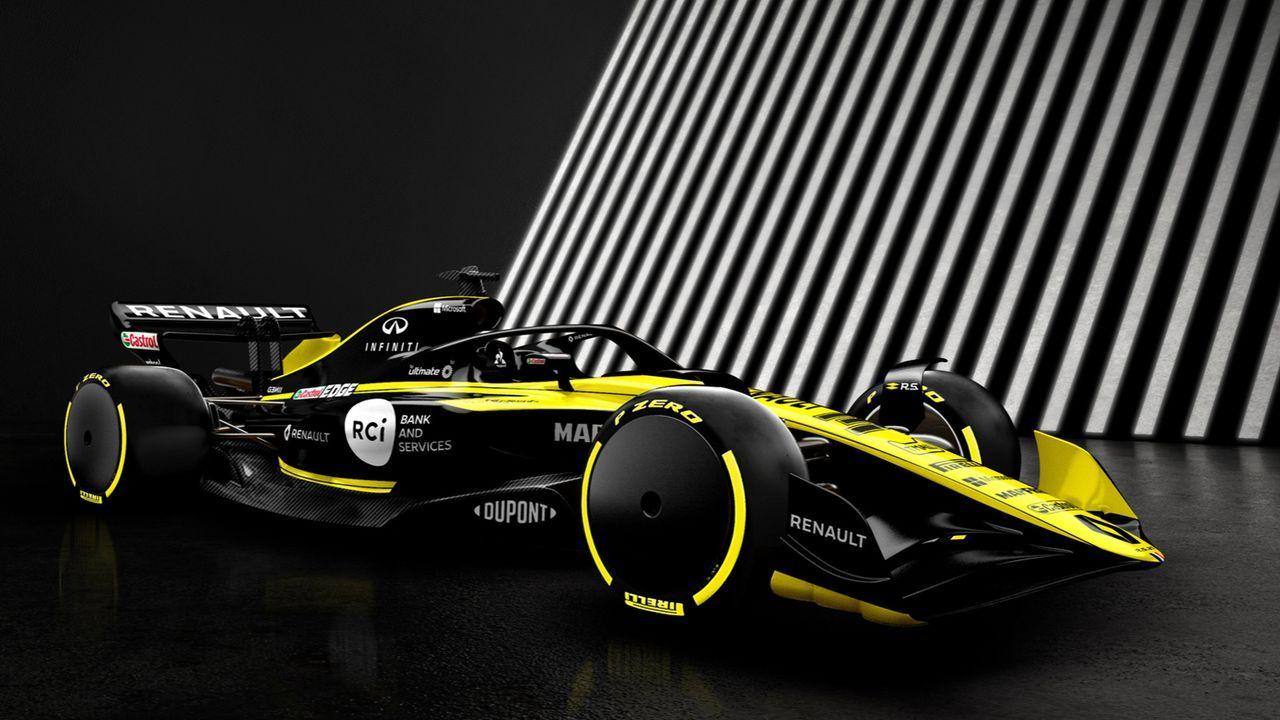 Erstmals eine Budget-Obergrenze - Bildquelle: Twitter/Renault