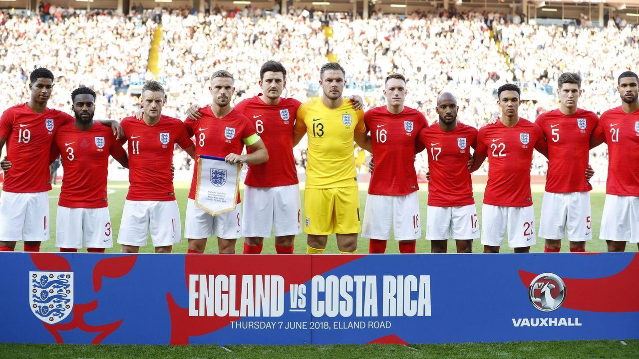 England: 25,57 Jahre - Bildquelle: Imago