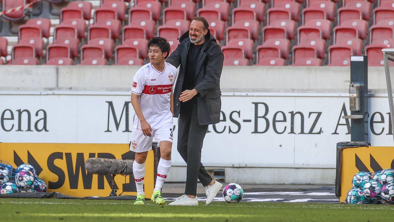 8. Platz: VfB Stuttgart (39 Punkte) - Bildquelle: Imago Images