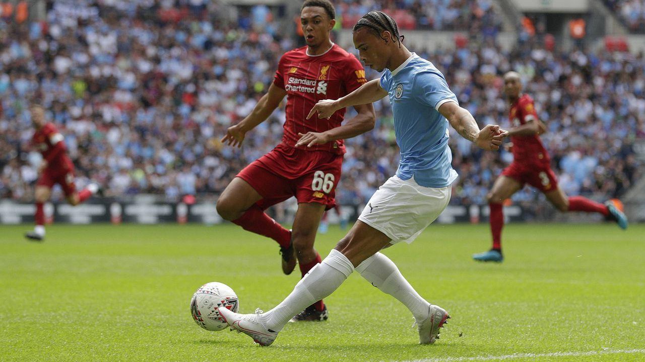 Leroy Sane gegen Liverpool - Bildquelle: imago images / Action Plus