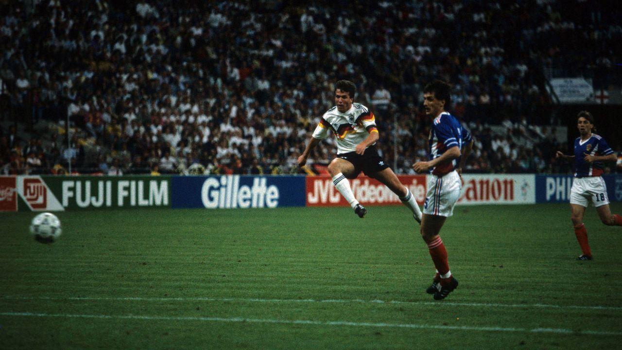 WM 1990: Deutschland - Jugoslawien - Bildquelle: imago sportfotodienst