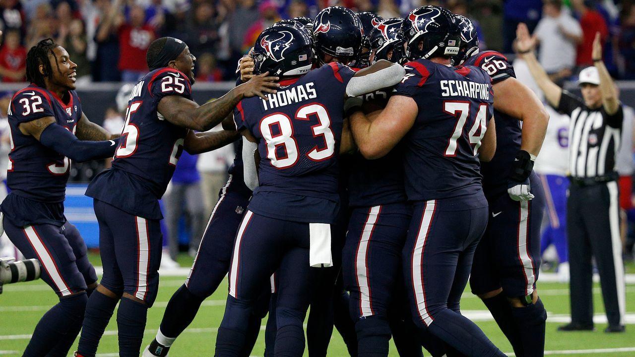 Platz 32: Houston Texans - Bildquelle: 2020 Getty Images