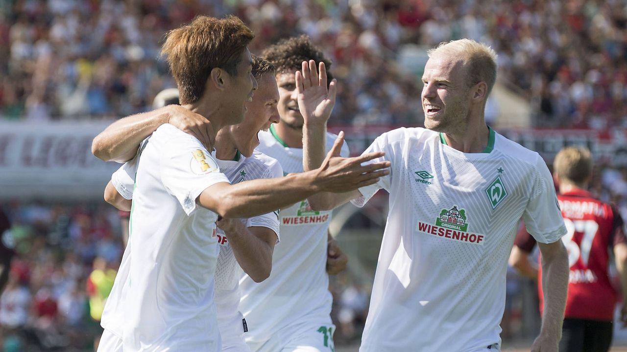 Platz 8: SV Werder Bremen - Bildquelle: imago/Sven Simon