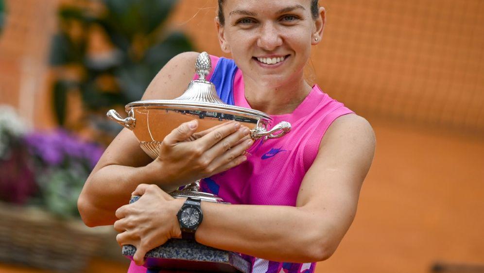Siegerin des WTA-Turniers in Rom: Simona Halep - Bildquelle: AFPPOOLSIDRICCARDO ANTIMIANI