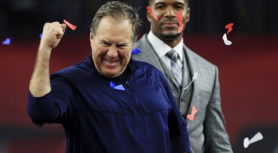 2. neuer Rekord: Meiste Super-Bowl-Siege als Head Coach - Bildquelle: 2017 Getty Images
