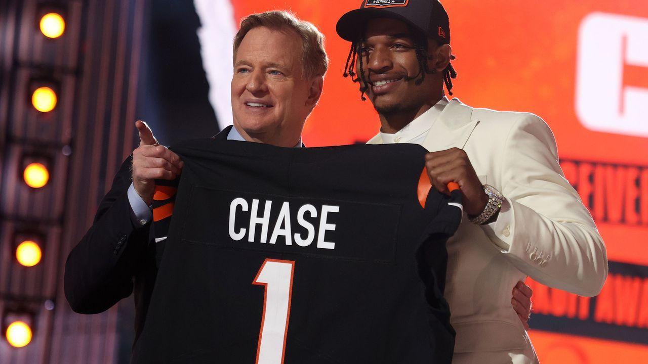 5. Pick - Ja'Marr Chase (Wide Receiver, Cincinnati Bengals) - Bildquelle: 2021 Getty Images