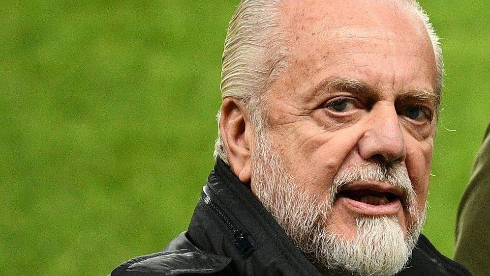 Aurelio De Laurentiis will Neapel-Stars Gehälter kürzen - Bildquelle: AFPSIDFRANCK FIFE