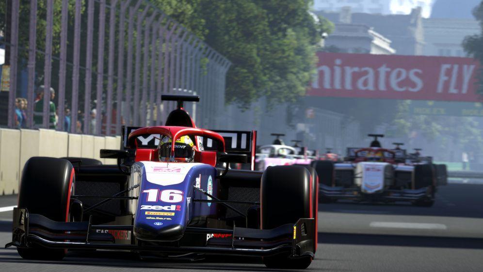 In F1 2019 können Gamer erstmals auch Formel-2-Rennen fahren - Bildquelle: Codemasters