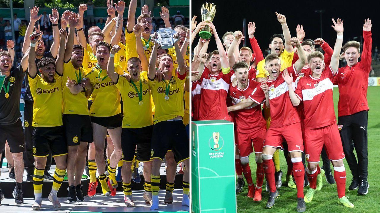 Die Top-Talente von Dortmund und Stuttgart - Bildquelle: imago
