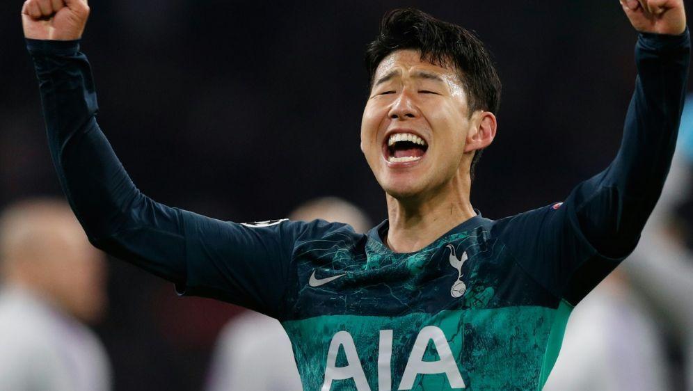 Heung-min Son glaubt an einen Sieg von Tottenham - Bildquelle: AFPSIDADRIAN DENNIS