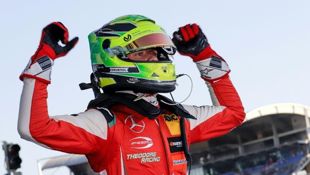 Saisonabschluss mit Platz zwei: Mick Schumacher - Bildquelle: PIXATHLONPIXATHLONSID