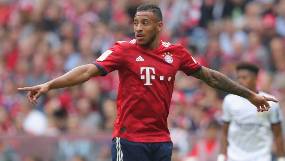 Corentin Tolisso musste in der ersten Halbzeit gegen Leverkusen ausgewechsel... - Bildquelle: 2018 Getty Images