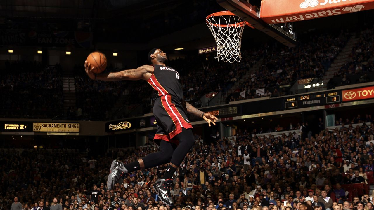 Platz 7: LeBron James - Bildquelle: Getty