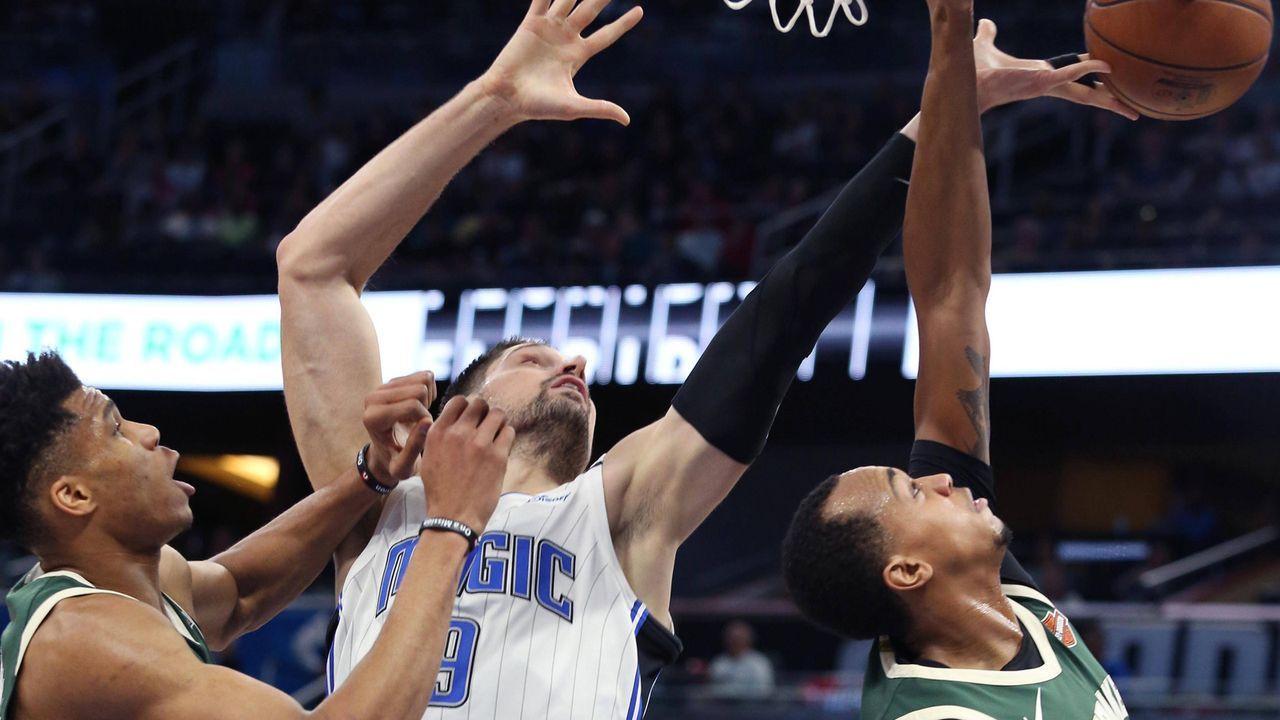 Osten: Milwaukee Bucks (1) vs. Orlando Magic (8) - Bildquelle: imago/ZUMA Press