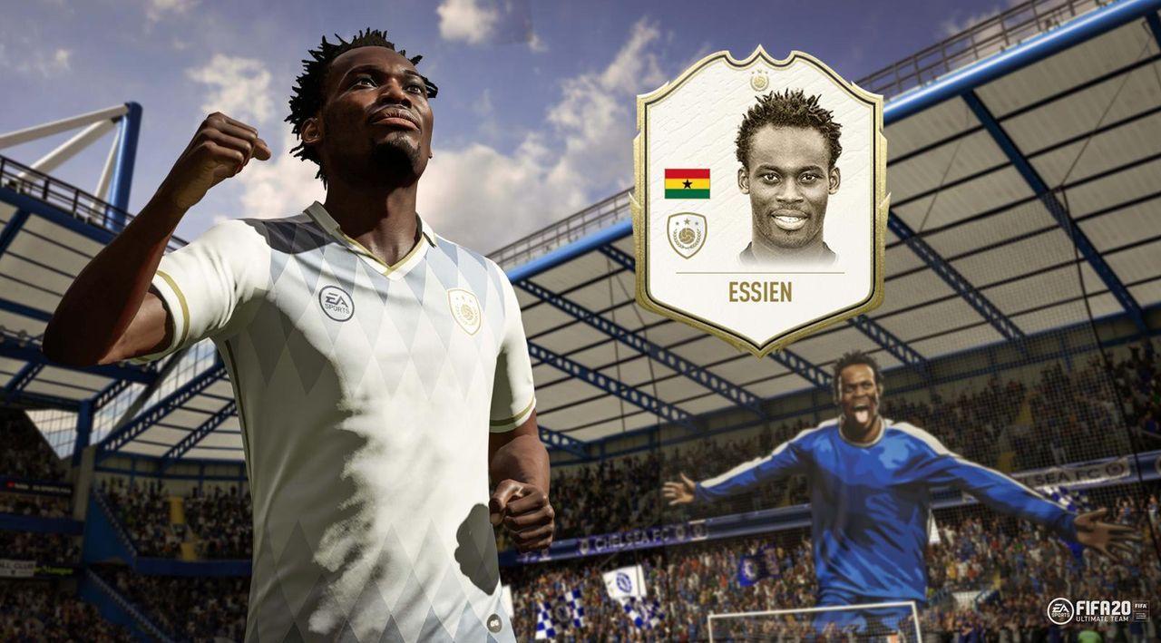 FIFA 20 Icons: Michael Essien - Bildquelle: Twitter/@EAFussball