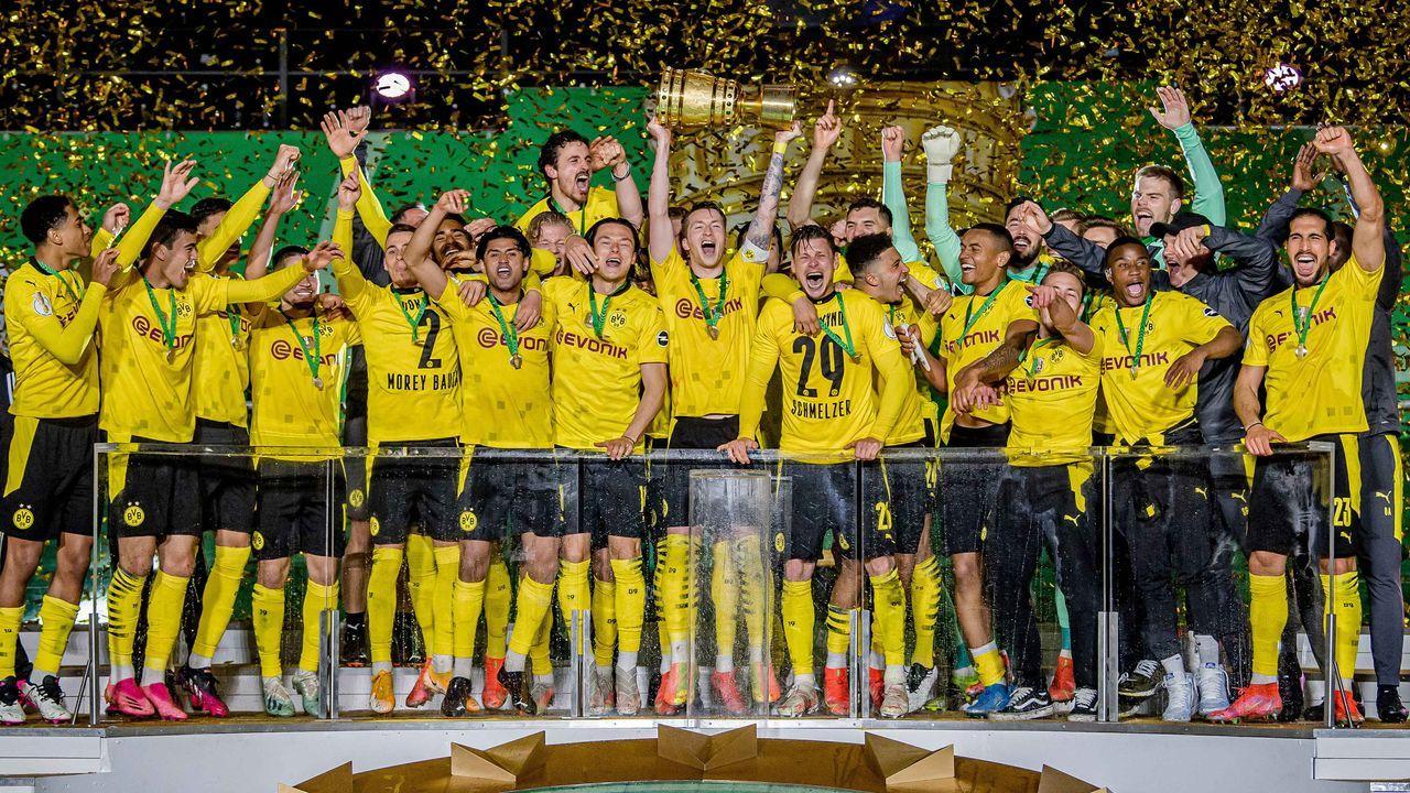 Platz 1: Borussia Dortmund (38,57 Millionen Euro) - Bildquelle: imago images/motivio