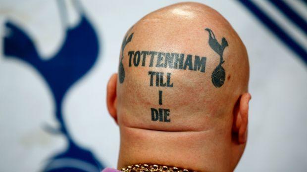 Die verrücktesten Tattoos der Premier-League-Fans - Bildquelle: Getty Images